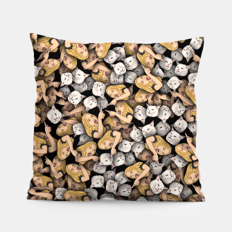 Thumbnail image of Woman Yelling at a Cat Pillow, Live Heroes