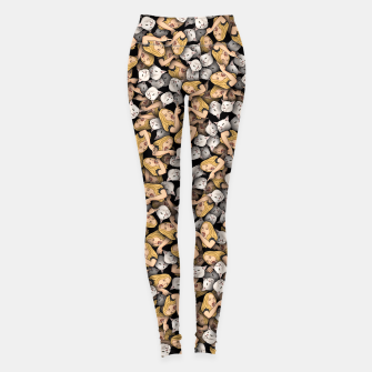 Thumbnail image of Woman Yelling at a Cat Leggings, Live Heroes