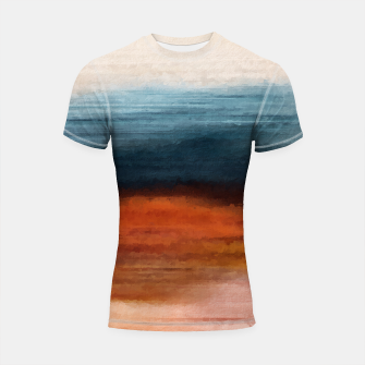Thumbnail image of Abstract Shortsleeve rashguard, Live Heroes