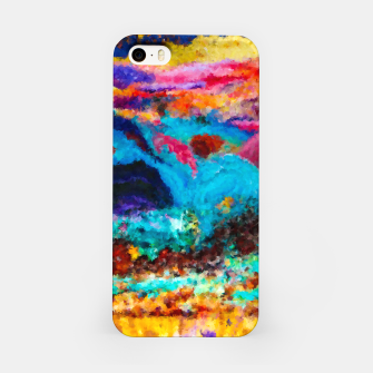 Thumbnail image of Abstract Psychedelic iPhone Case, Live Heroes