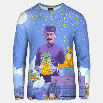 Thumbnail image of Lobby man Unisex sweater, Live Heroes