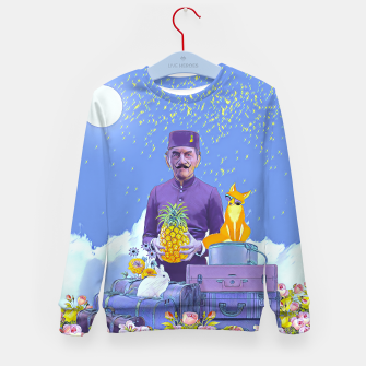 Thumbnail image of Lobby man Kid's sweater, Live Heroes