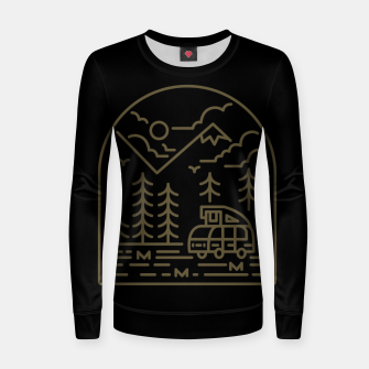 Miniatur Into the Mountain Women sweater, Live Heroes