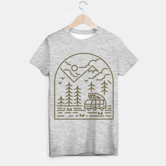 Miniatur Into the Mountain T-shirt regular, Live Heroes