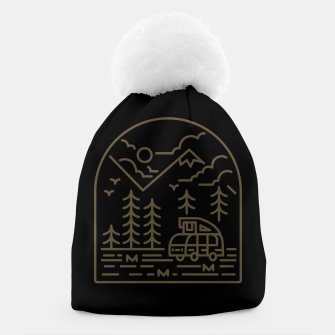 Miniatur Into the Mountain Beanie, Live Heroes