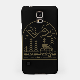 Miniatur Into the Mountain Samsung Case, Live Heroes