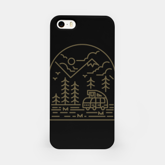 Miniatur Into the Mountain iPhone Case, Live Heroes