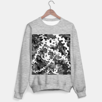 Black and white chains  Sweater regular imagen en miniatura