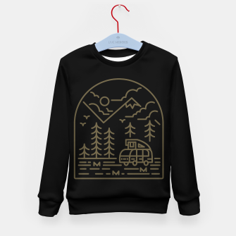 Miniatur Into the Mountain Kid's sweater, Live Heroes