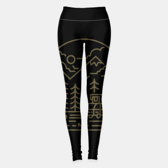 Miniatur Into the Mountain Leggings, Live Heroes