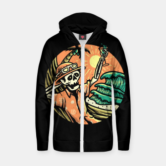Thumbnail image of Have a Nice Day Zip up hoodie, Live Heroes