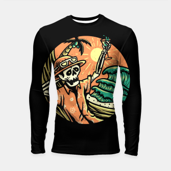 Thumbnail image of Have a Nice Day Longsleeve rashguard , Live Heroes