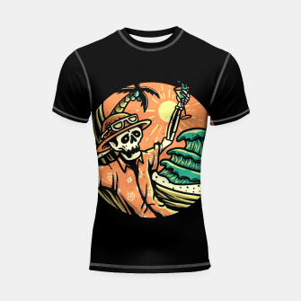 Thumbnail image of Have a Nice Day Shortsleeve rashguard, Live Heroes