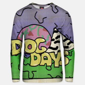 Miniatur dog days blotters Unisex sweater, Live Heroes