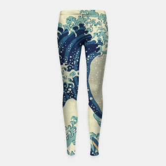 Thumbnail image of Big Wave Leggings para niña, Live Heroes