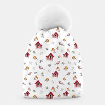 Thumbnail image of Winter Robins Beanie, Live Heroes