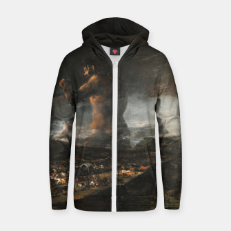 Thumbnail image of Coloso Sudadera con capucha y cremallera , Live Heroes