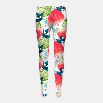 Thumbnail image of Botanica II Girl's leggings, Live Heroes