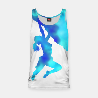 Thumbnail image of bouldering ecstacy tank top, Live Heroes