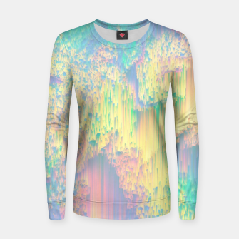 Thumbnail image of Remixed Nature Women sweater, Live Heroes