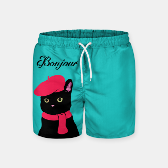 Thumbnail image of Bonjour Swim Shorts, Live Heroes