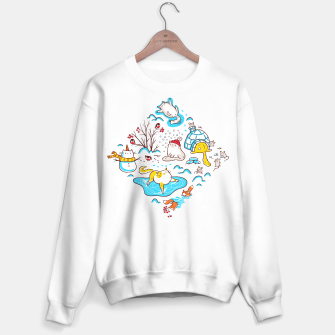 Thumbnail image of Winter Cats Sweater regular, Live Heroes