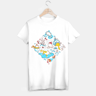Thumbnail image of Winter Cats T-shirt regular, Live Heroes