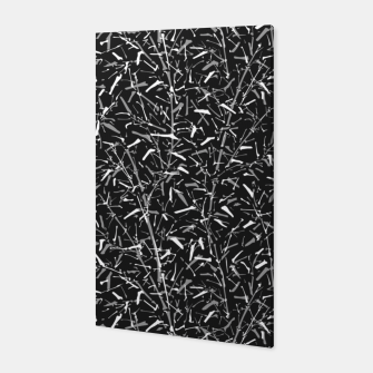 Miniatur Black Bamboo in Monochrome Canvas, Live Heroes
