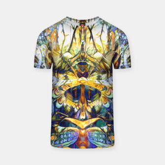 Thumbnail image of Forest deepdream T-shirt, Live Heroes