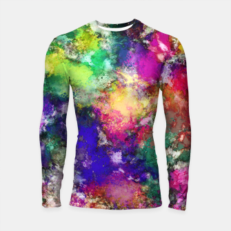 Thumbnail image of To spin a ghost Longsleeve rashguard , Live Heroes