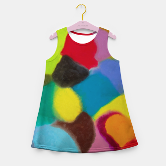 Thumbnail image of Patchwork Girl's summer dress, Live Heroes
