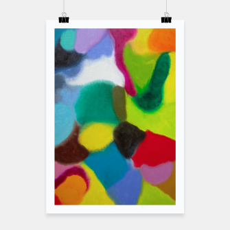 Thumbnail image of Patchwork Poster, Live Heroes