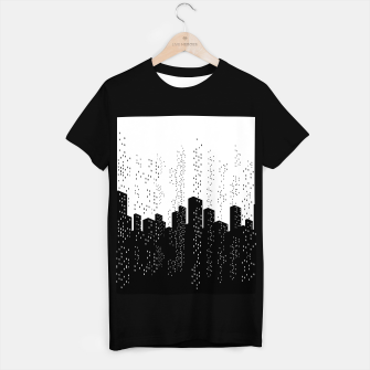 Thumbnail image of Skyscraper Camiseta Regular, Live Heroes
