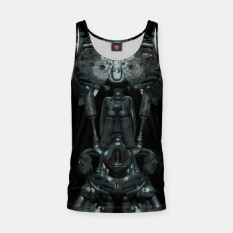 Thumbnail image of Rusty Cyborg Robot Body Design Muskelshirt , Live Heroes