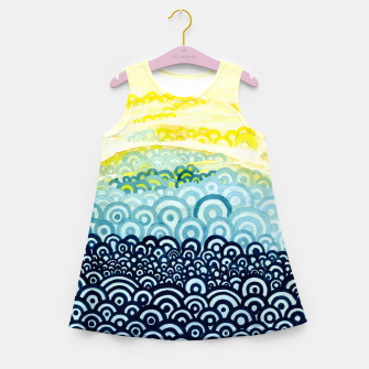 Miniatur The Sympathy of Curves Series: Embrace Girl's summer dress, Live Heroes