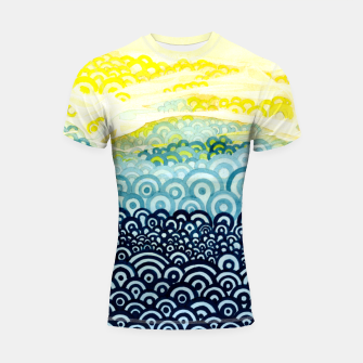 Miniatur The Sympathy of Curves Series: Embrace Shortsleeve rashguard, Live Heroes