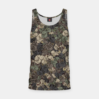 Zombie camouflage Tank Top thumbnail image