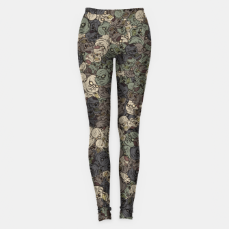 Thumbnail image of Zombie camouflage Leggings, Live Heroes