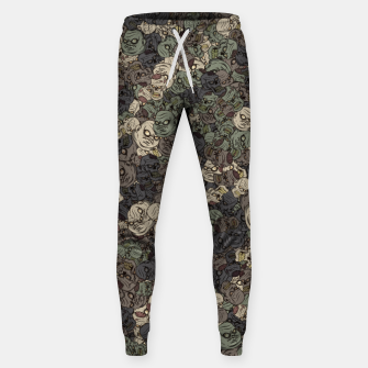 Thumbnail image of Zombie camouflage Sweatpants, Live Heroes