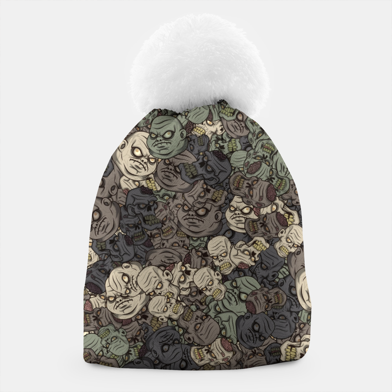 Image of Zombie camouflage Beanie - Live Heroes