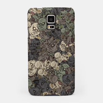 Zombie camouflage Samsung Case thumbnail image