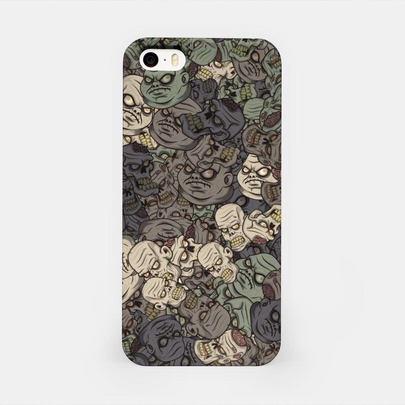 Image of Zombie camouflage iPhone Case - Live Heroes