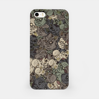 Zombie camouflage iPhone Case thumbnail image