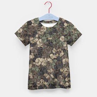 Zombie camouflage Kid's t-shirt thumbnail image