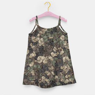 Thumbnail image of Zombie camouflage Girl's dress, Live Heroes