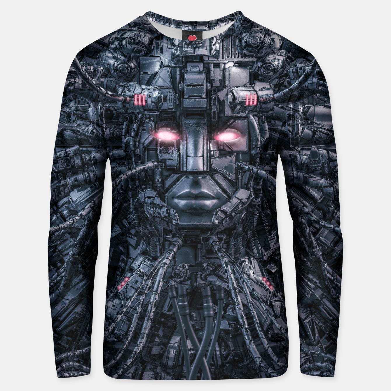 Image of Digital Goddess Reloaded Unisex sweater - Live Heroes