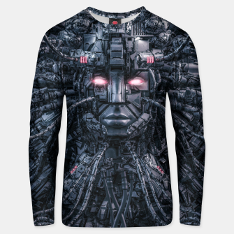 Thumbnail image of Digital Goddess Reloaded Unisex sweater, Live Heroes