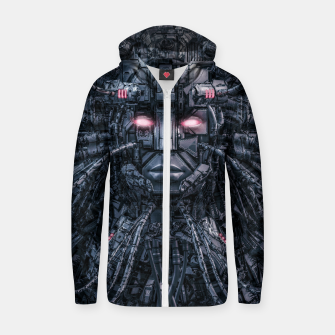 Digital Goddess Reloaded Zip up hoodie Bild der Miniatur