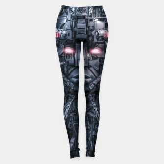 Digital Goddess Reloaded Leggings Bild der Miniatur