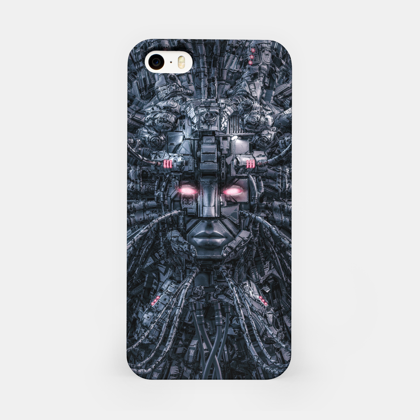 Foto Digital Goddess Reloaded iPhone Case - Live Heroes